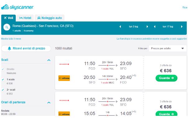 Viaggiare low cost - Guida Skyscanner di SlowMoove