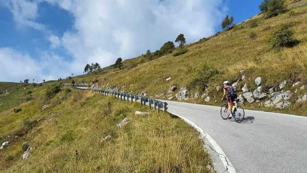 allenamento viaggio in bicicletta