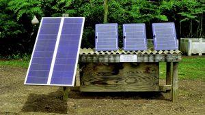 Pannelli solari per van