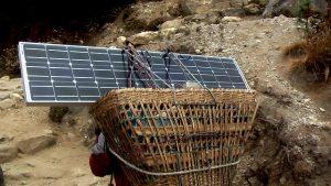 Pannelli solari da trekking