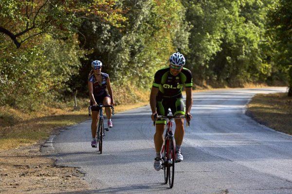 allenamento viaggio in bici