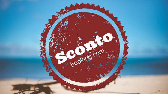 coupon di sconto di 15 Euro booking