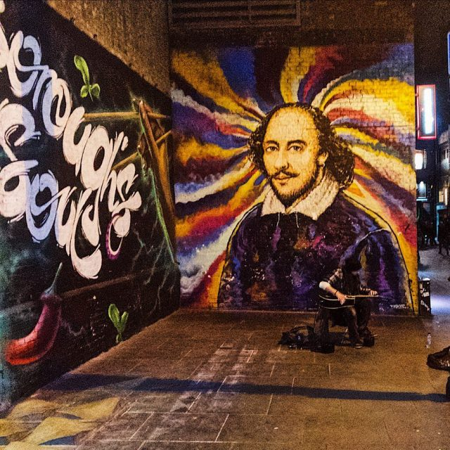 amazing corner in London! music and painting we streetart!! hellip
