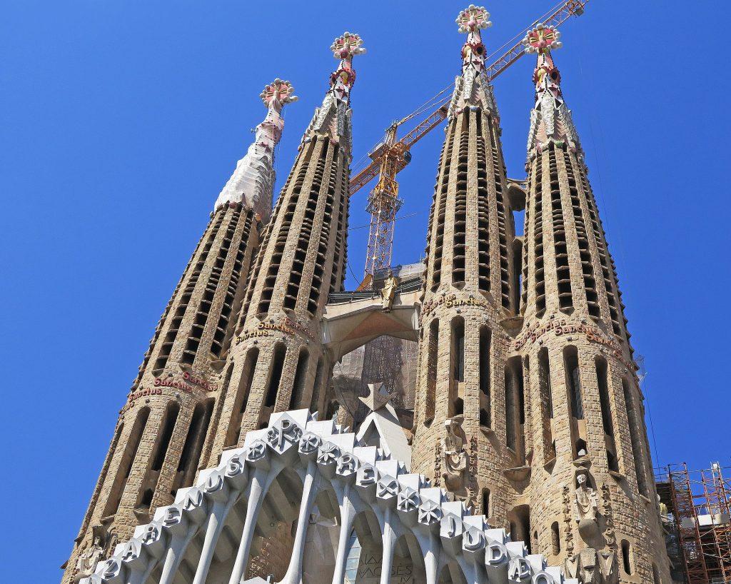 La basilica della Sagrada Familia