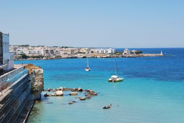 Barche a Gallipoli, provincia di Lecce