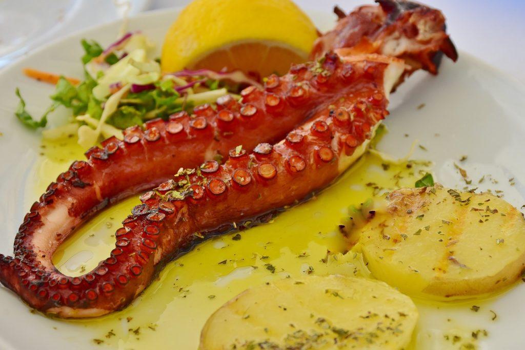 Piatti tipici Croazia, pesce alla griglia