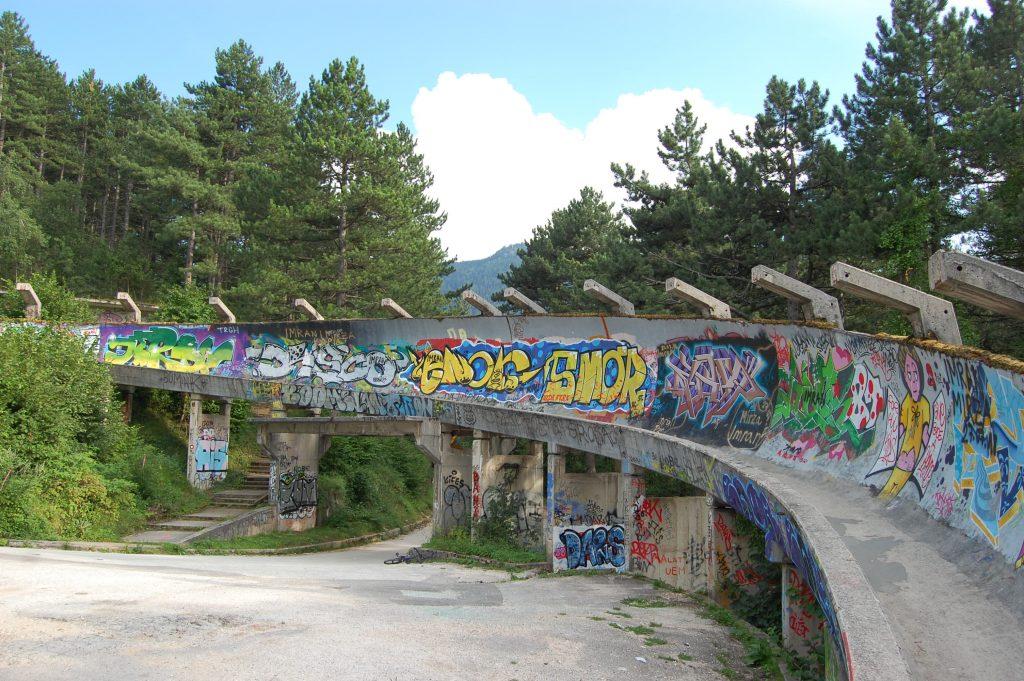 Cosa vedere a Sarajevo: Pista di bob
