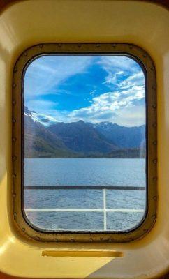 Fiordi Cileni - Vista ghiacciaio