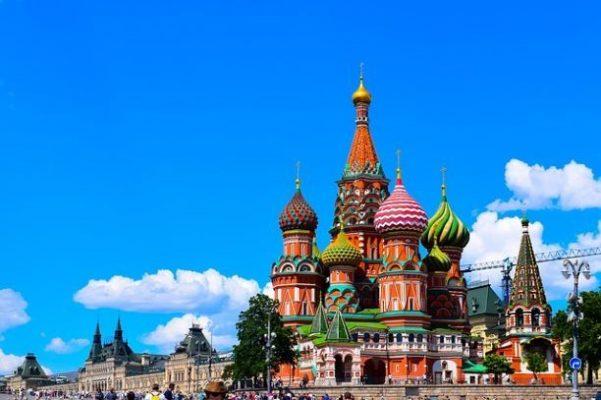 Viaggiare in Russia - la cattedrale di San Basilio