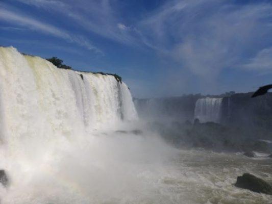 Vista delle cascate di Iguazú