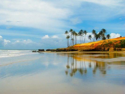 Ilha do Mel, una vista della spiaggia