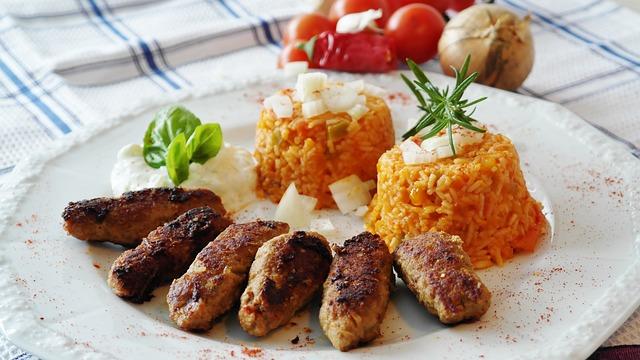 Piatto tipico di carne Croazia