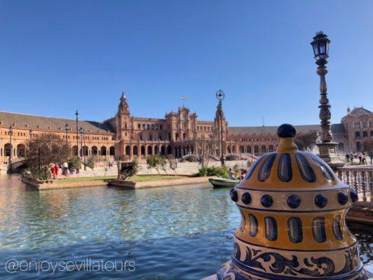 Visitare Plaza España a Siviglia