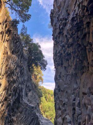 grotte dell'alcantara sicilia, tra messina e catania