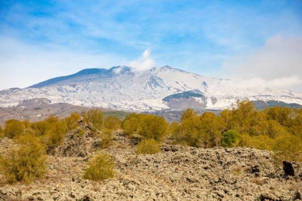 Una vista dell'Etna