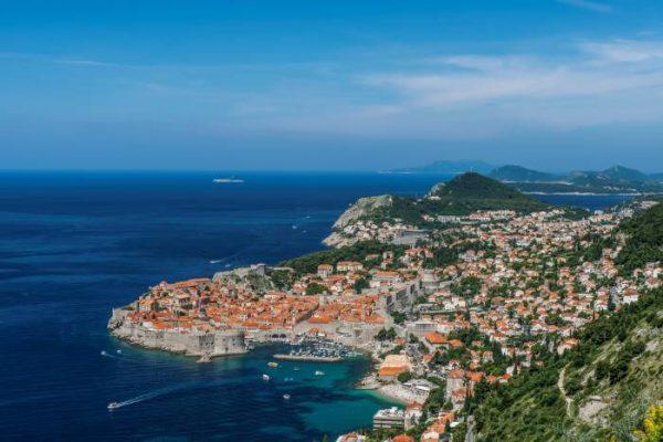 vista di Dubrovnik dall'altro, idee di weekend in europa