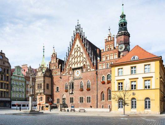 idee weekend europa, uno scorcio di wroclaw