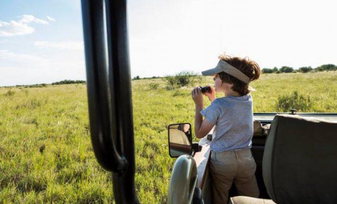 Safari con i bambini … certo che si può