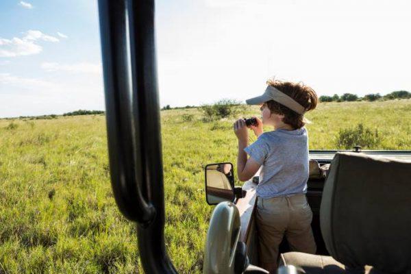 safari con bambini