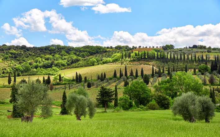 itinerari di viaggi in moto in Toscana