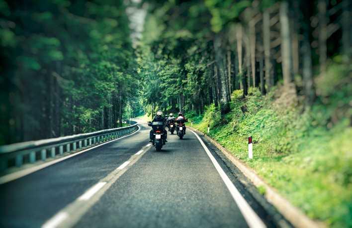 viaggi in moto in Italia